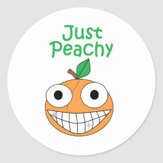 Just Peachy Stickers