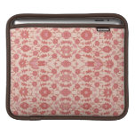 Just Peachy - Vintage Floral Pattern Sleeve For iPads