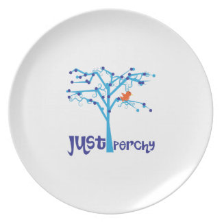 Just Perchy Party Plate