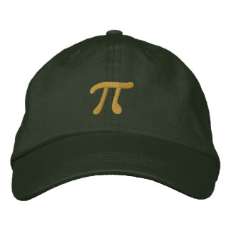 Just Pi Embroidered Baseball Hat
