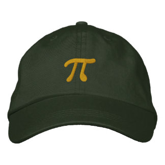Just Pi Embroidered Hat