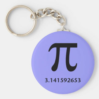 Just Pi, Nothing More Keychains