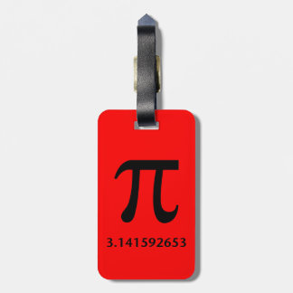 Just Pi, Nothing More Luggage Tag
