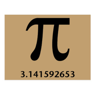 Just Pi, Nothing More Postcard