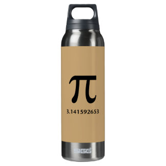 Just Pi, Nothing More 16 Oz Insulated SIGG Thermos Water Bottle