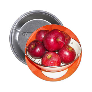 Just Picked Apples 2 Inch Round Button