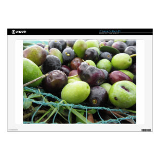 """Just picked olives on the net during harvest time skin for 17"""" laptop"""