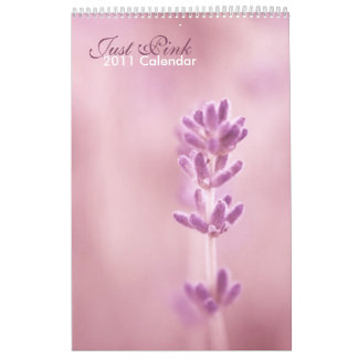 Just Pink 2011 calendar