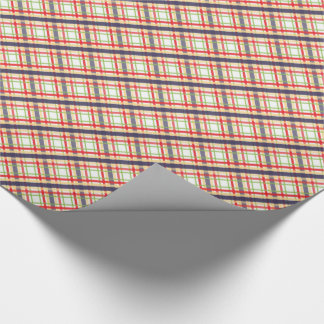 Just Plaid ~ Red, Blue & Green Wrapping Paper