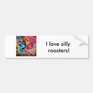 Just Plain Silly Bumper Sticker