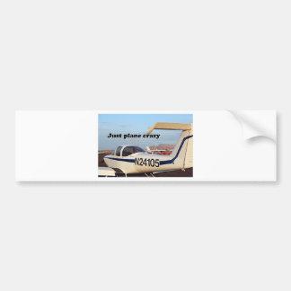 Just plane crazy: aircraft, Page, Arizona, USA 6 Bumper Sticker