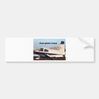 Just plane crazy: aircraft, Page, Arizona, USA 7 Bumper Sticker