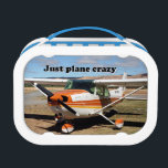 """Just plane crazy: Cessna aircraft Lunch Box<br><div class=""""desc"""">Just plane crazy: Cessna aircraft lunch box</div>"""
