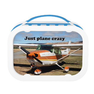 Just Plane Crazy: Cessna Aircraft Lunch Box at Zazzle
