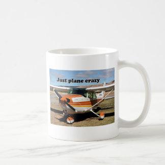 Just plane crazy: Cessna Skyhawk aircraft Coffee Mug