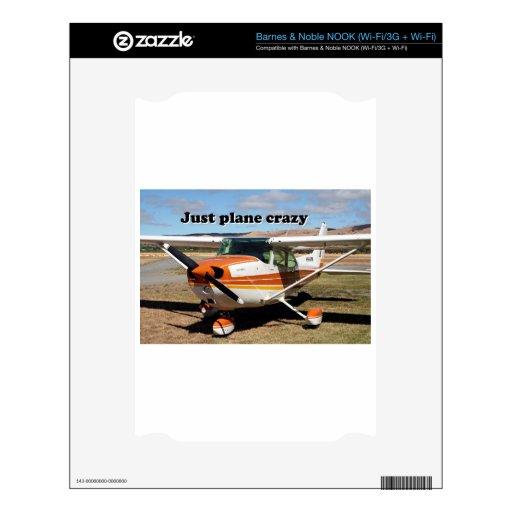 Just plane crazy: Cessna Skyhawk aircraft NOOK Skins