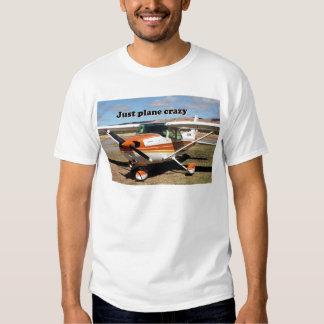 Just plane crazy: Cessna Skyhawk aircraft T-shirt