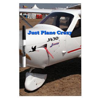 Just plane crazy: Jabiru ultralight Dry-Erase Board