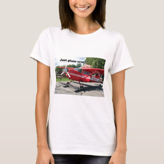 Just plane crazy: skiplane, Talkeetna, Alaska, USA T-Shirt