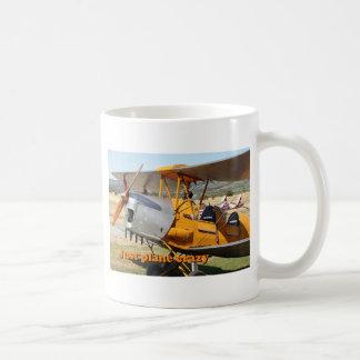 Just plane crazy: Tiger Moth biplane aircraft Coffee Mug