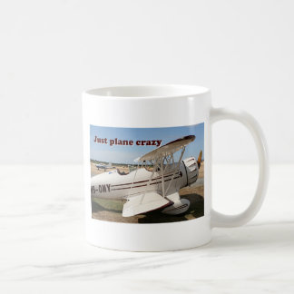Just plane crazy: Waco biplane aircraft Coffee Mug