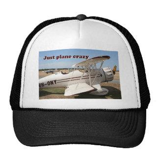 Just plane crazy: Waco biplane aircraft Trucker Hat