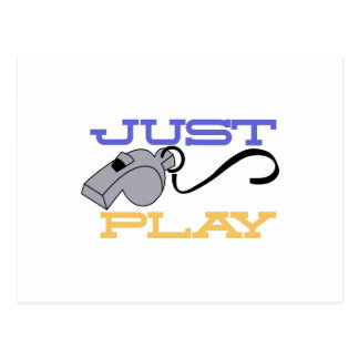 Just Play Postcard