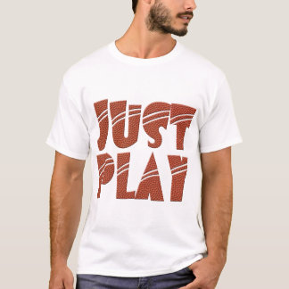 JUST PLAY T-Shirt with basketball texture