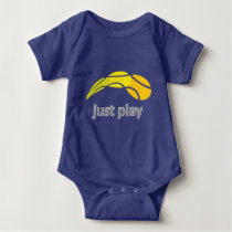 Just Play Tennis bodysuit for newborn baby boy