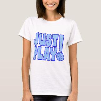 JUST PLAY VB, blue T-Shirt