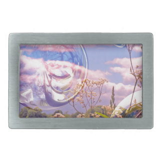 Just playing with bubbles. rectangular belt buckle
