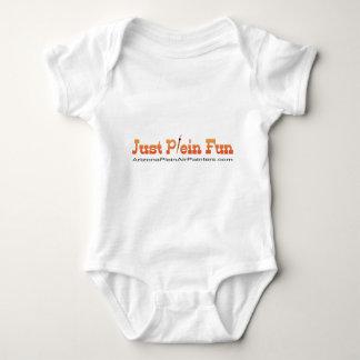 Just Plein Fun Baby Bodysuit