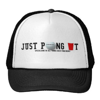 Just Pong It Trucker Hat