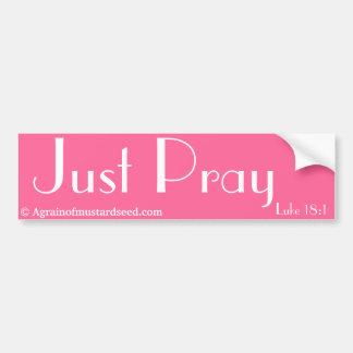 Just Pray Agrainofmustardseed.com Stickers
