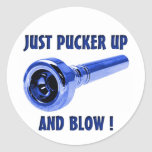 Just Pucker Up Sticker