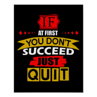 Just Quit Poster