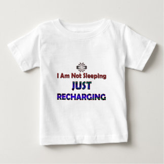 just-recharging-_-(white).png baby T-Shirt