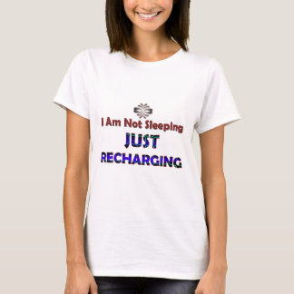 just-recharging-_-(white).png T-Shirt