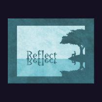 Just Reflect Canvas Print
