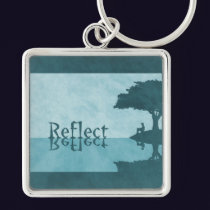 Just Reflect Keychain