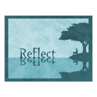 Just Reflect Photo Print