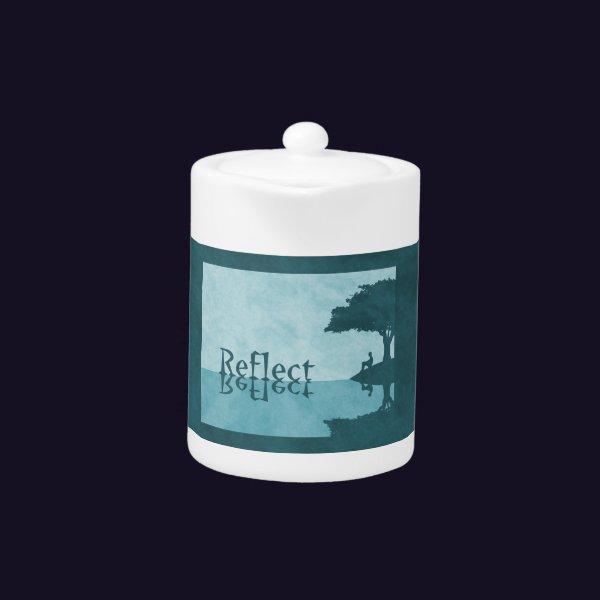 Just Reflect Teapot