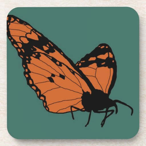 Just Resting In The Teal Haze Beverage Coaster