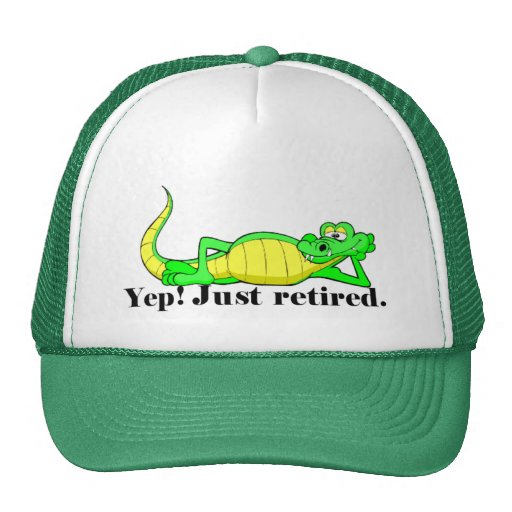Just Retired Mesh Hats