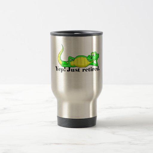 Just Retired Mug