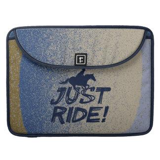 """Just Ride! 2 Macbook Pro 15"""" Flap Sleeve MacBook Pro Sleeves"""