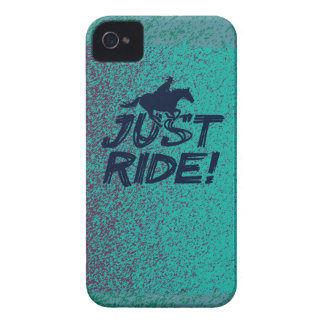 Just Ride! 4 BlackBerry Bold Case-Mate Barely Ther