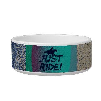 Just Ride! 4 Cat Bowl