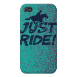 Just Ride! 4 iPhone 4/4SCase iPhone 4/4S Covers