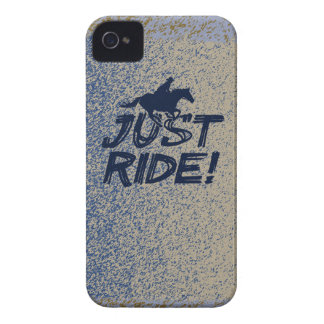 Just Ride!  BlackBerry Bold Case-Mate Barely There